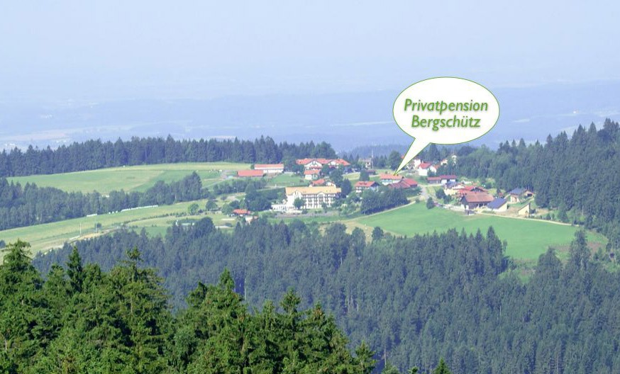 Lage Privatpension Bergschütz in Maibrunn